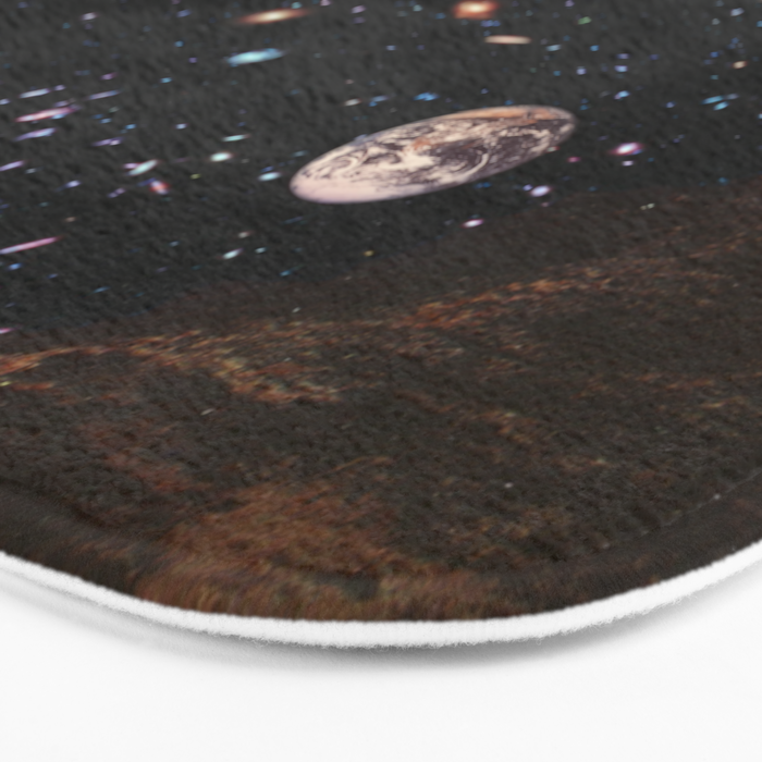 It's always sunny in Space Bath Mat