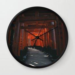 Fushimi-Inari Wall Clock