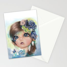 "Indigo - ""MunchkinZ"" By Sheena Pike Stationery Cards"