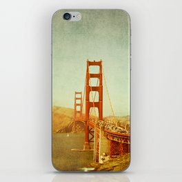 Golden Gate Bridge / San Francisco, California iPhone Skin