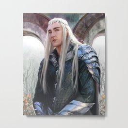 King of the Woodland Realm Metal Print