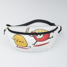 Funny Fries Horror Halloween graphic - perfect gift Fanny Pack