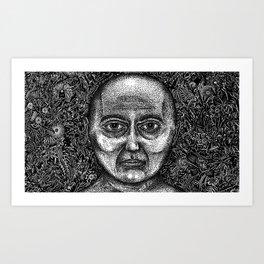 Brain Wave (Still Frame 1) Art Print