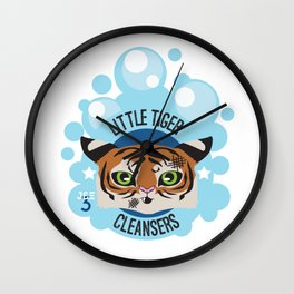 Little Tiger Cleansers Wall Clock