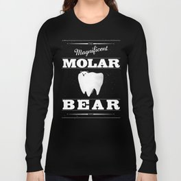 Molar Bear (Gentlemen's Edition) Long Sleeve T-shirt
