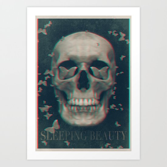 Sleeping Beauty Art Print