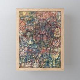 Strange Garden by Paul Klee, 1923 Framed Mini Art Print