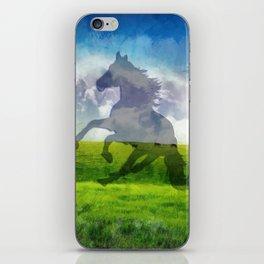 Horse fantasy iPhone Skin