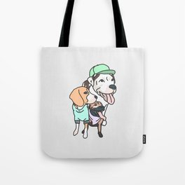 Dog Squad Goals Tote Bag