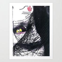 Vuelvo a mí X Art Print