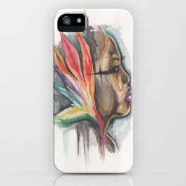 woman of paradise iPhone Case