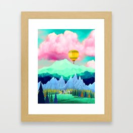 Cool Landscape Framed Art Print