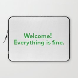 welcome! everything is fine. Laptop Sleeve
