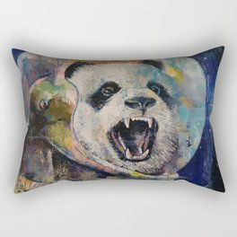 Space Panda Rectangular Pillow