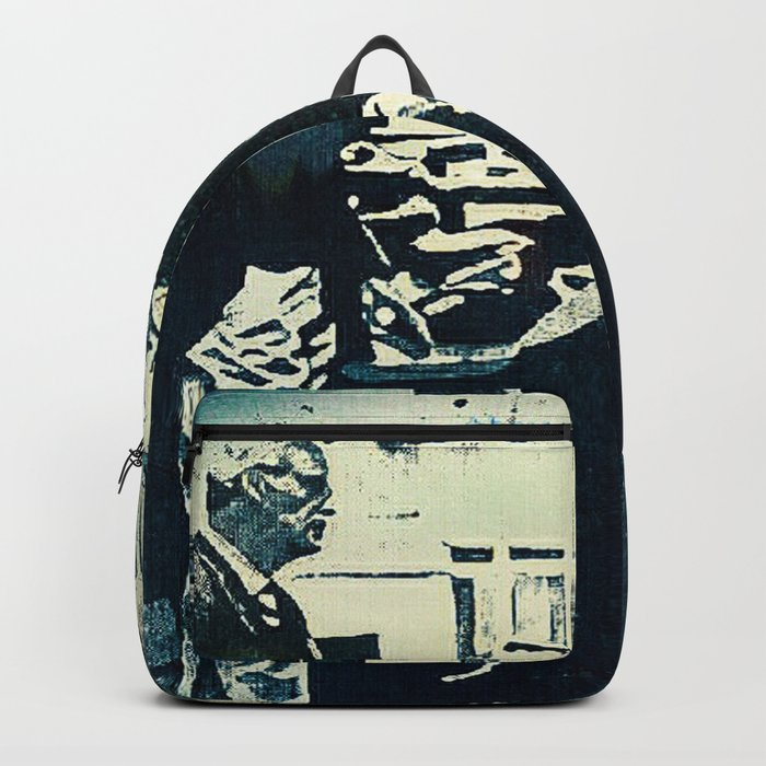 Manage a Trois (Office Drama) Backpack