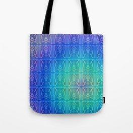K - pattern Tote Bag