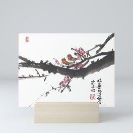 A Beautiful Pair Mini Art Print