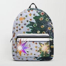 Christmas D3 - Stars & Tree Backpack