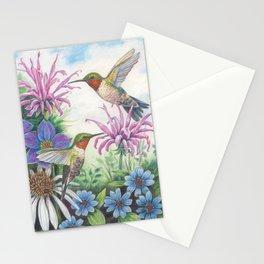 Hummingbird and Bergamot Stationery Cards