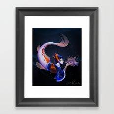 A Moving Work of Art Framed Art Print
