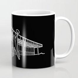 Mies - Berlin National Gallery Sketch (W) Coffee Mug