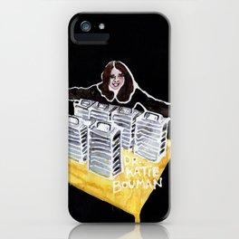 Dr. Katie Bouman iPhone Case