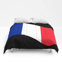 France Flag Wave Comforters