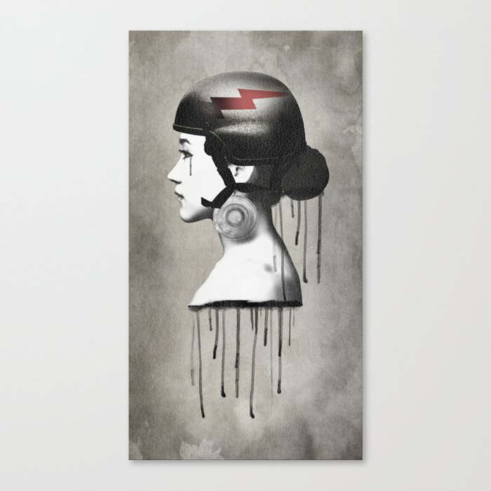 Tear II Canvas Print