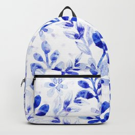 Watercolor Floral VVII Backpack