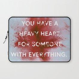 NIGHTWALKER | Heavy Heart Laptop Sleeve