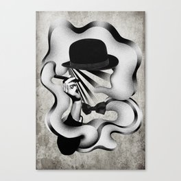 gentle smoke Canvas Print