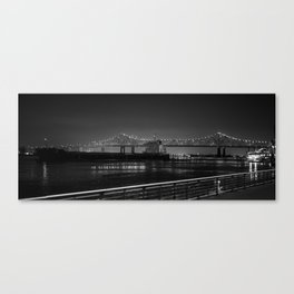 The Crescent City Connection Canvas Print