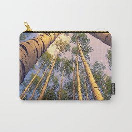 Aspen Trees Against Sky Carry-All Pouch