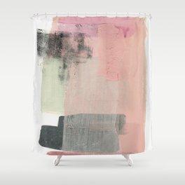 minimalism 14 Shower Curtain