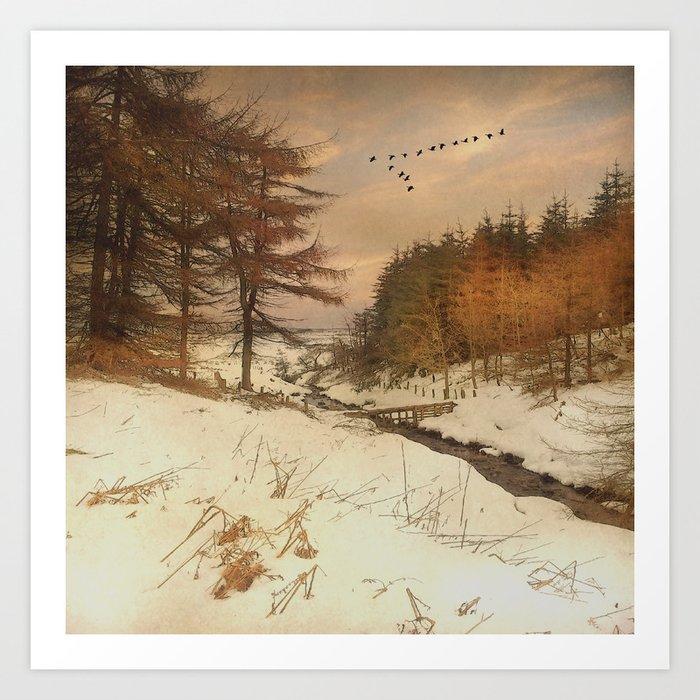 A winter's Tale Art Print
