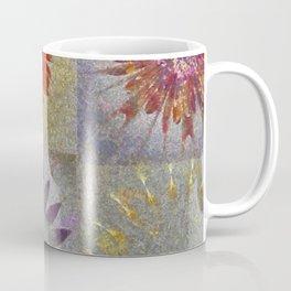 Uncaptivate Stripped Flower  ID:16165-034048-23510 Coffee Mug