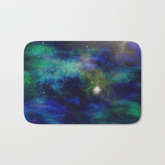 Stars and Waves Bath Mat