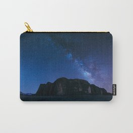 Milky Way Over Wadi Rum Carry-All Pouch