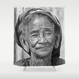 Once upon a Time in VIETNAM Shower Curtain