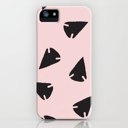 Arrowheads-Pink iPhone Case