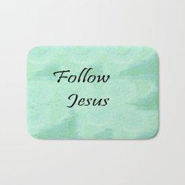Follow Jesus Bath Mat
