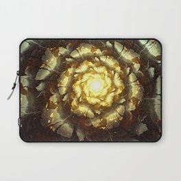Metallic Flower Laptop Sleeve