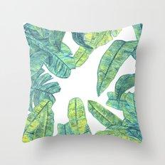 tropical daze Throw Pillow