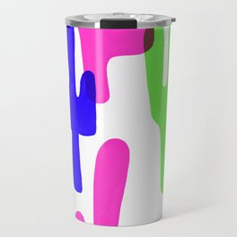 Colorful Cacti Travel Mug