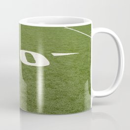 Football Field Forty Coffee Mug