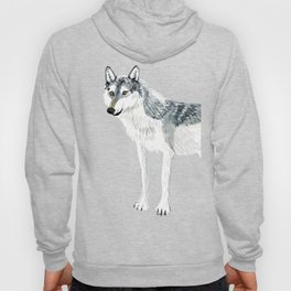 Totem Alberta Wolf Hoody