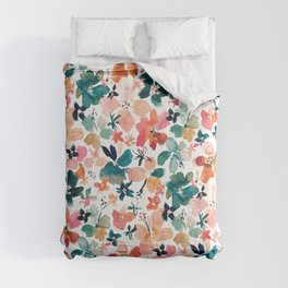 ISLAND TIME Tropical Floral Comforters