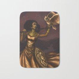 Goddess of Wisdom Bath Mat