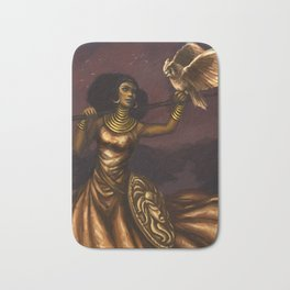 Goddess of Wisdom Bath Mat