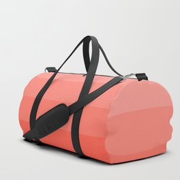 Living Coral Light to Bright Gradient Duffle Bag